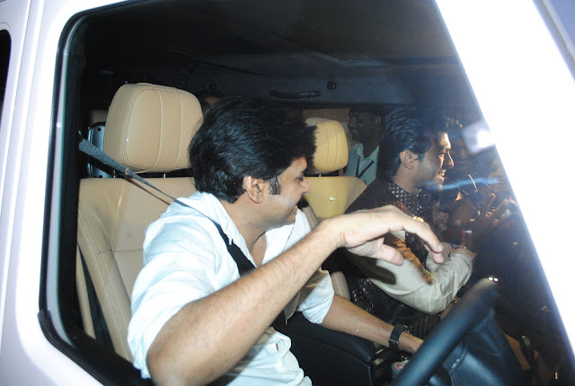 image of Pawan Kalyan Bringing RamCharan To Engagement in His New Benz SUV   pictureswallpapers photo